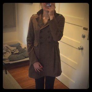 Cute Mod Tweed Coat